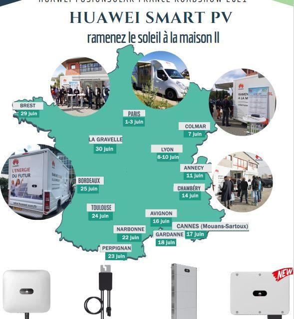 Roadshow Huawei FusionSolar 2021