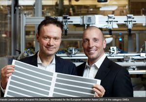Une technologie polyvalente de cellules solaires pour les appareils auto-rechargeables en course pour le Prix de l'inventeur européen 2021