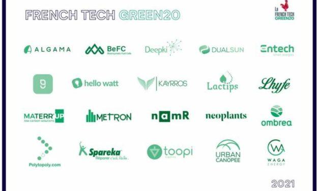 « French Tech – Green20 » : 20 start-up Greentech vont bénéficier d'un accompagnement de l'Etat