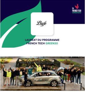 Lhyfe sélectionnée pour intégrer le French Tech Green20