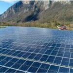 Mise en service de la première centrale solaire de Haute-Savoie à Faverges-Seythenex