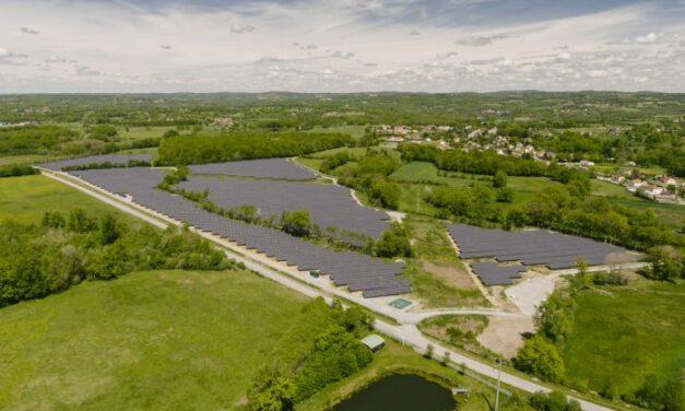 EDF Renouvelables met en service la centrale solaire du Grand Guéret en Nouvelle-Aquitaine