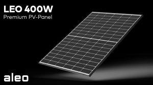Aleo solar dévoile une série de modules 400 Wc