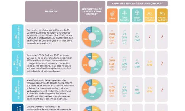 RTE publie six scénarios pour atteindre la neutralité carbone à l'horizon 2050