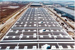 AG Real Estate confie à Urbasolar l'installation d'une toiture photovoltaïque géante