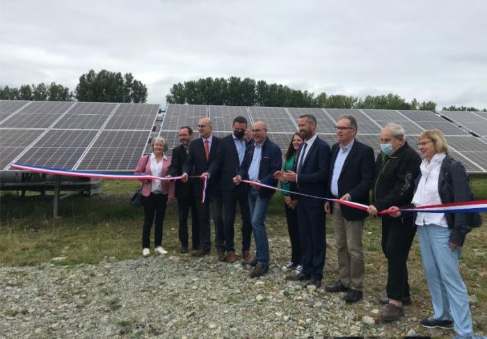 RES, CVE et la Ville de Loudéac ont inauguré la centrale PV de Loudia en Côtes-d'Armor
