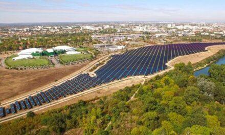Inauguration de la centrale solaire de l'Oncopole