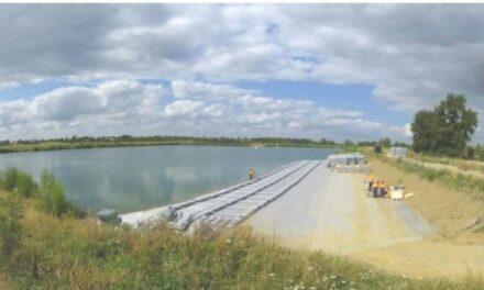Urbasolar a lancé les travaux de la première centrale solaire flottante de Haute Garonne