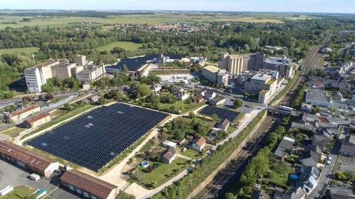 Axéréal met en service la centrale solaire thermique de la malterie Boortmalt d'Issoudun