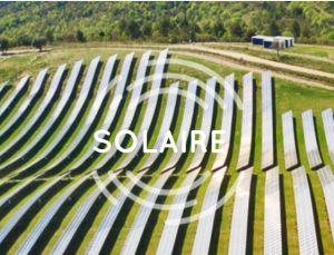Pour le SER, la filière solaire photovoltaïque est en phase d'accélération