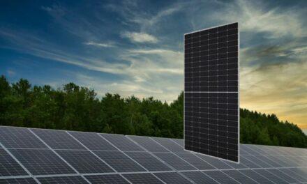 Sharp lance un module photovoltaïque à demi-cellules de 540W