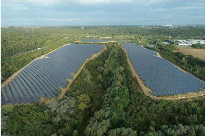 Marcoussis inaugure la plus grande ferme solaire d'Île-de-France