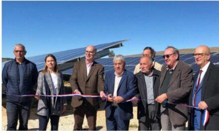 CVE et RES inaugurent la centrale photovoltaïque de Brouville