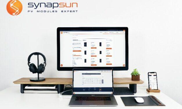 Synapsun lance une plateforme digitale dédiée à l'approvisionnement de modules PV